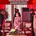 Megawati dan Prabowo Resmikan Patung Bung Karno di Halaman Kantor Kemhan