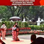 Resmikan Patung Bung Karno, Megawati Ingatkan Prajurit TNI Hal Ini
