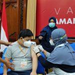 Peduli Disabilitas, Yayasan Bersama Indonesia Sehat Gelar Vaksinasi Covid-19
