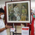 Buka Pameran Lukisan 'Pancasila dan Bung Karno', Armuji Ingatkan Jasmerah