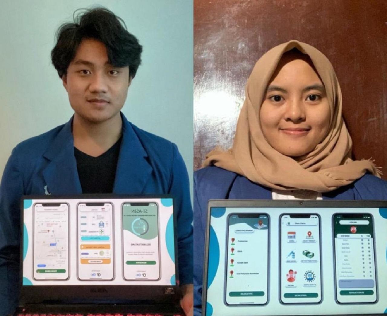 Mahasiswa ITS Gagas SI-ASIN, Aplikasi Penunjuk Sebaran Vaksinasi Covid-19