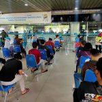 Puspenerbal Gencarkan Vaksinasi Covid-19 di Bandara Juanda