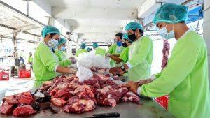 Penyembelihan Hewan Kurban di RPH Surabaya Naik Dua Kali Lipat