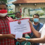 Achmad Hidayat Berikan Bantuan Permodalan untuk Paguyuban PKL