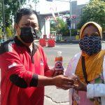 Wujud Kehadiran Kader Banteng Surabaya di Tengah Pandemi
