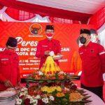 Megawati Resmikan Kantor DPC PDI Perjuangan Kota Surabaya secara Daring