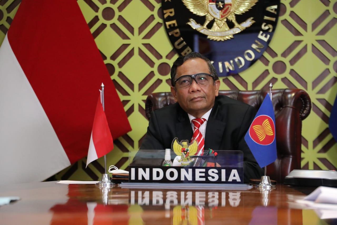 Pertemuan Dewan Masyarakat Polkam ke-23 ASEAN, Mahfud MD Sampaikan 3 Isu Ini