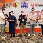 Alumni Petra Buat Alat Penjepit Pengeras Suara pada Masker