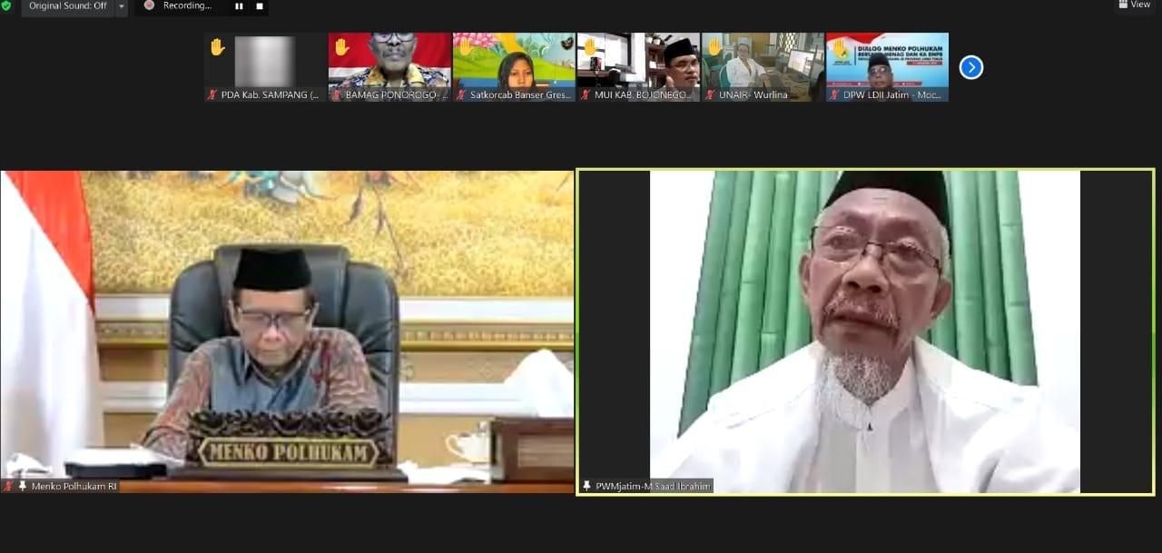 Mahfud MD: Negara Kaum Muslimin Harus Inklusif dan Kosmopolit