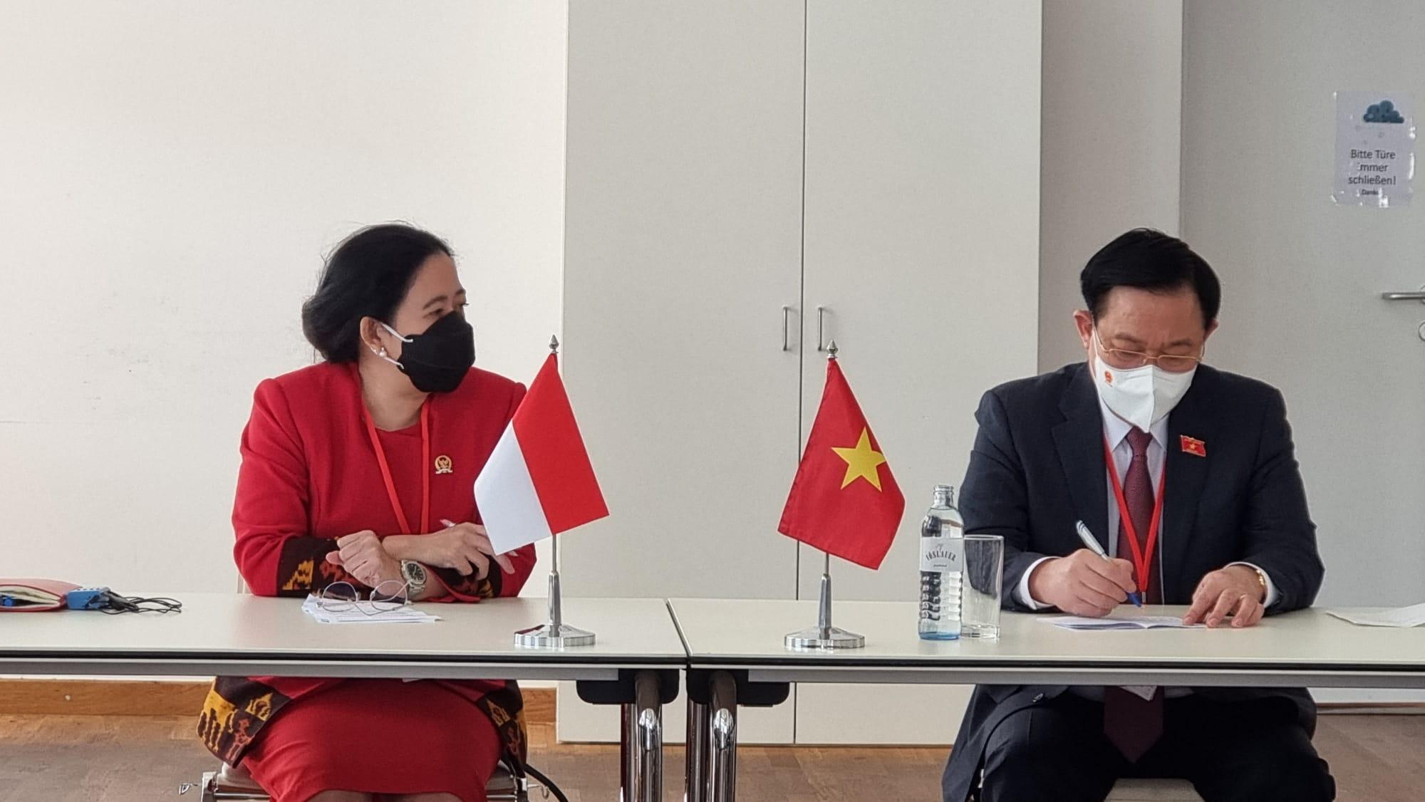 Puan Bertemu Ketua Parlemen Austria dan Vietnam, Ini yang Dibahas