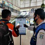 Dua Minggu ke Depan, Terminal Purabaya Terus Sosialisasikan Aplikasi PeduliLindungi