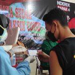 DPC PDI Perjuangan Kota Kediri Gelar Vaksinasi untuk 500 Warga