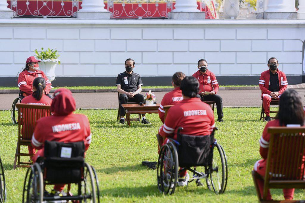 Presiden Minta Kemenpora Bangun Pemusatan Latihan dan Sentra Olahraga untuk Atlet Disabilitas