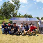 Mahasiswa Unair Wujudkan Pembangunan Berkelanjutan melalui Sistem Pengairan dari Panel Surya