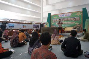 Hari Museum Nasional, Pemkot Kediri Ajak Pemuda Belajar Aksara Jawa Kuno